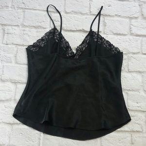 Victoria's Secret Tops - Victoria Secret Size M Vintage Camisole Black Lace